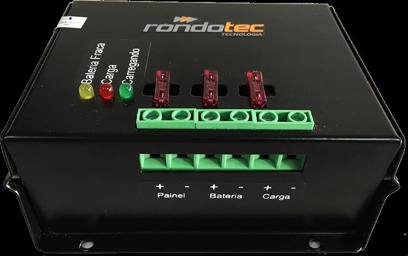 Controlador de Carga Solar 1000W Automático 12/24V 40A - RT-CC20