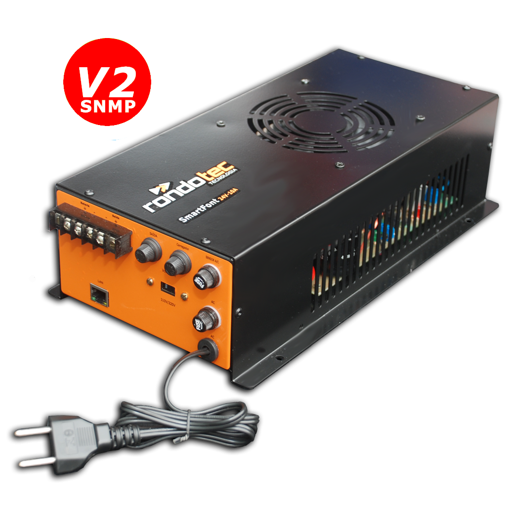 Fonte Nobreak SmartFont v2 24V 20A SNMP