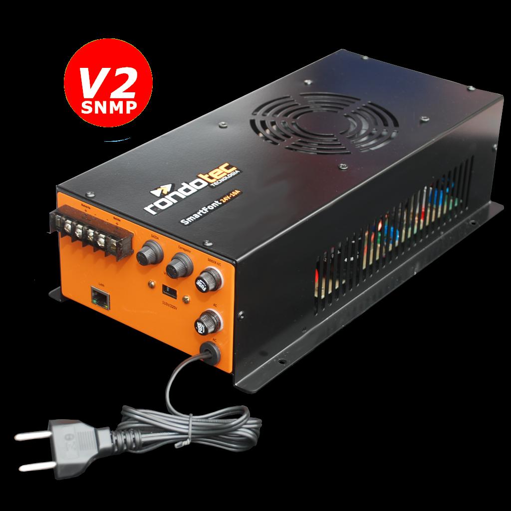 Fonte Nobreak SmartFont v2 24V 7A SNMP